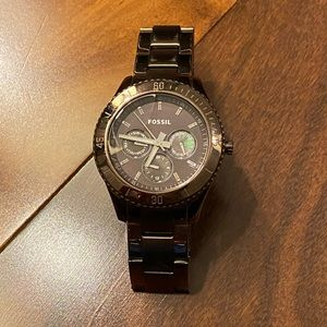 Women's Copper/Gold Fossil Watch